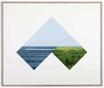 Jan Dibbets, 'New Horizons - Sea-Land HB1', 2007
