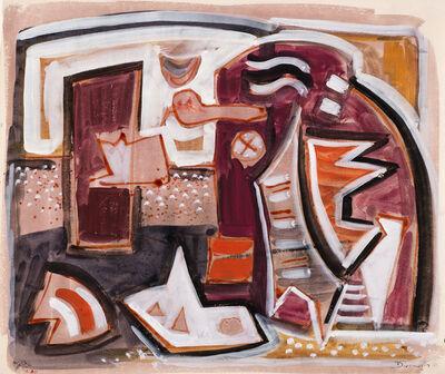 Werner Drewes, 'Composition A301', 1946
