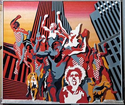 Henri Cueco, 'Les Hommes Rouges'