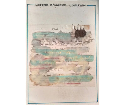 Rafael Hastings, 'Lettre d´amour lointain', 1976