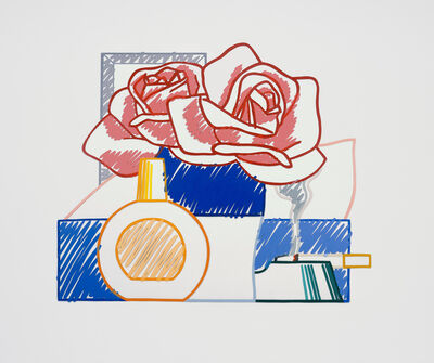 Tom Wesselmann, 'Scribble Version of Still Life #58 (Opaque)', 1984-1991