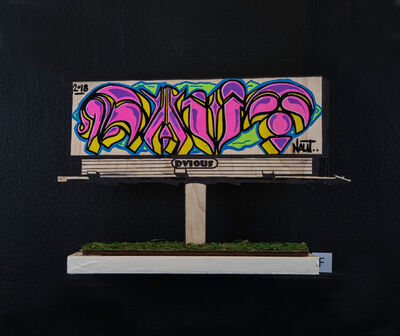 NAUT, 'Billboard F', 2018