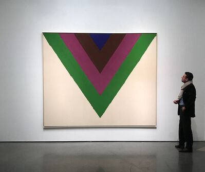 Kenneth Noland, 'Across', 1964