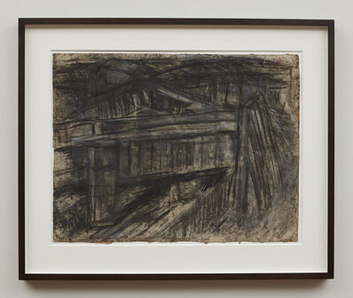 Leon Kossoff, 'Railway Bridge Mornington Crescent', 1952