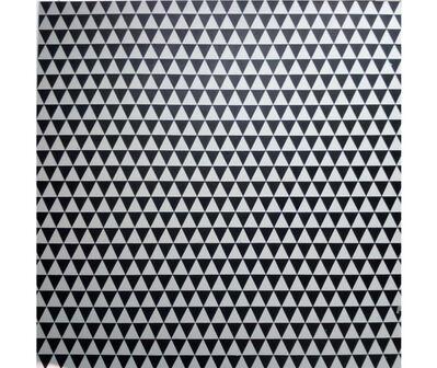 Jaime Higa Oshiro, 'Triángulos Blanco/Negro', 2019