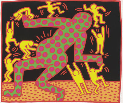 Keith Haring, 'Fertility Suite, Untitled 3', 1983