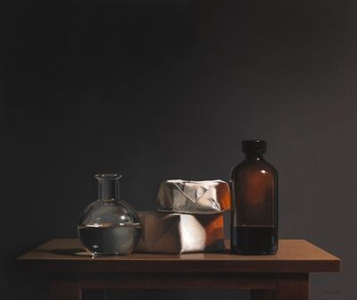 Guy Diehl, 'Still Life with Paper and Glass', 2017