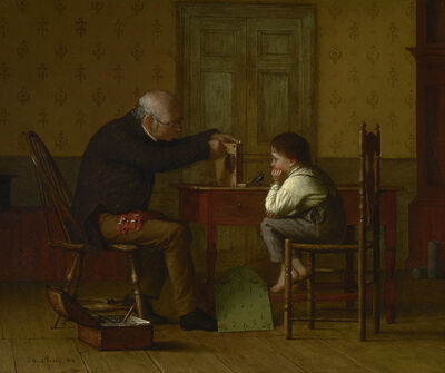 Enoch Wood Perry Jr., 'The Clock Doctor', 1871