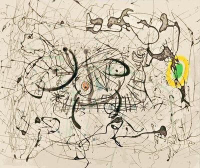Joan Miró, 'Fissures planche 14', 1969