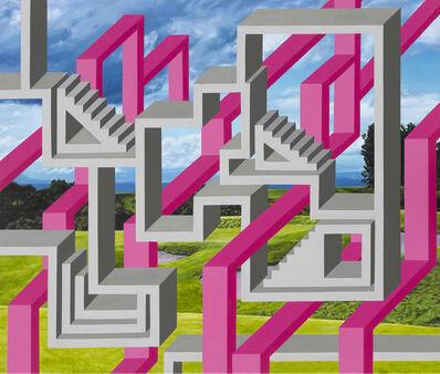 Kyoung Tack Hong, 'Green Green Grass 2', 2014