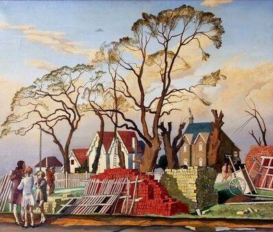 Dorothy Coke, 'New Building , Brighton', 1930