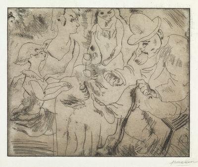 Jules Pascin, 'Group of 8 prints'