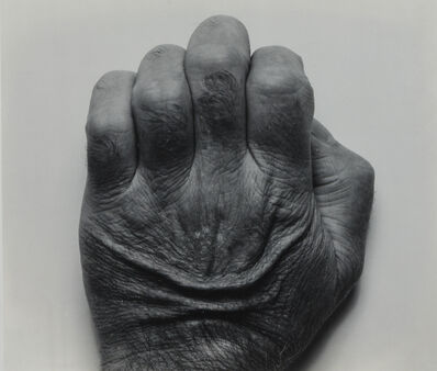 John Coplans, 'Self Portrait, Back of Hand', 1986