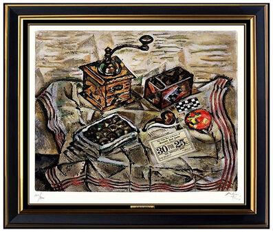 Joan Miró, 'Le Moulin a Cafe', 1954