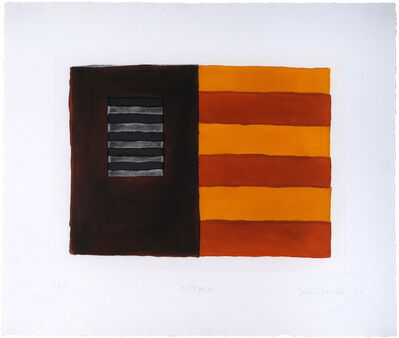 Sean Scully, 'Diptych', 1991