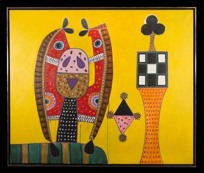 Alan Davie, 'Birds, Idol no 4', 1970