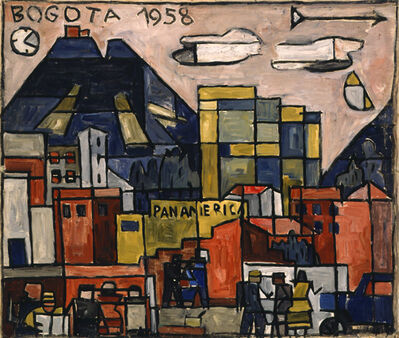 Julio Alpuy, 'Paisaje Bogota', 1958