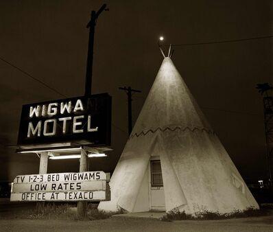 Steve Fitch, 'Motel, Highway 66, Holbrook, Arizona', 1973