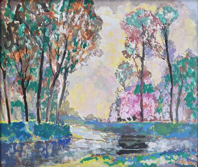 Francis Focer Brown, 'River Scene', ca. 1900