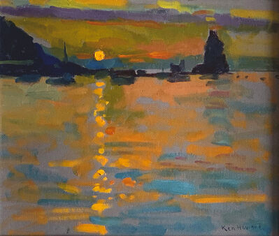 Ken Howard, 'Sunset II, Volcano', 2009