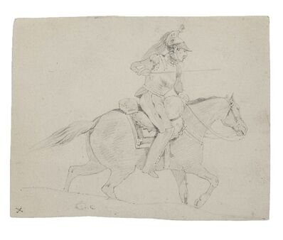 Unknown, 'Soldier on Horseback', 19th Century