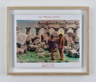 Anne and Patrick Poirier, 'Série Les Paysages Révolus, Selinunte, Agosto', 1973