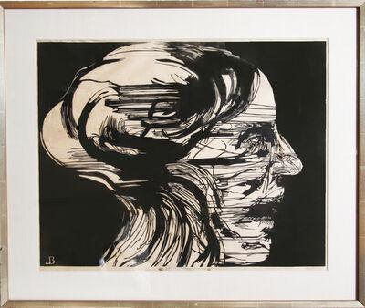 Leonard Baskin, 'Agonized', ca. 1965