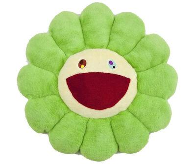 Takashi Murakami, 'Flower Plush Pillow Green', 2107