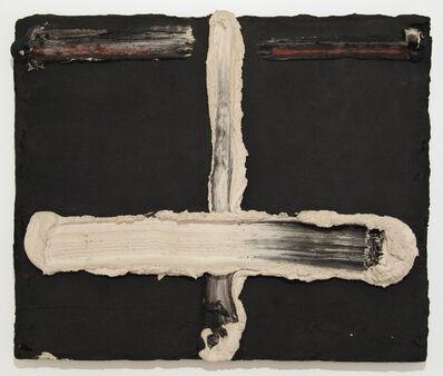 Bram Bogart, 'Kruis Wit Zwart', 1965