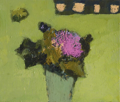 Jennifer Hornyak, 'Apple Green with Fuschia', 2020