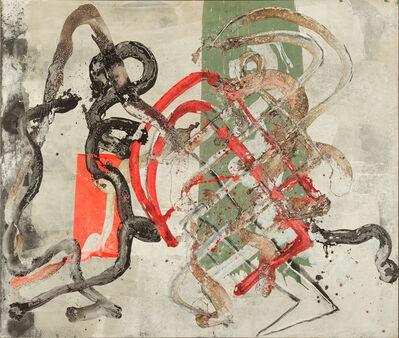 Ed Moses, 'Untitled Trak Painting', 1989