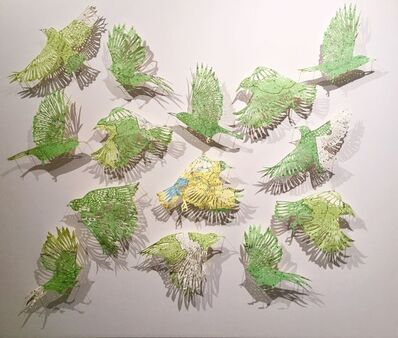 Claire Brewster, 'Green Grass of Home, Part 2'