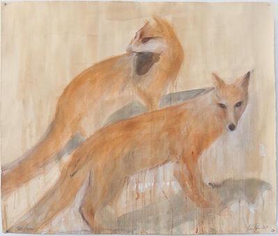 Jane Rosen, 'Two Foxes', 2017