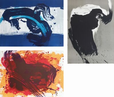 Kazuo Shiraga, 'Divinité de l'eau / Esprit du feu / Esprit du l'arbre', 1991