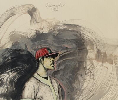 Felix Angel, 'Solo Baseball Player', ca. 2013