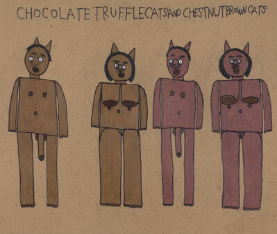Antonio Benjamin, 'Chocolate Truffle Cats and Chestnut Brown Cats', 2018