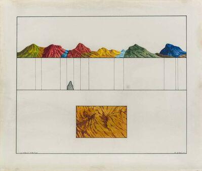 Guido Biasi, 'Memoire écologique (Coloration)', 1974
