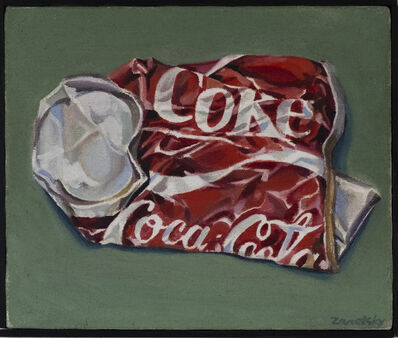 Sol Zaretsky, 'Crushed Coke Can', ca. 1973