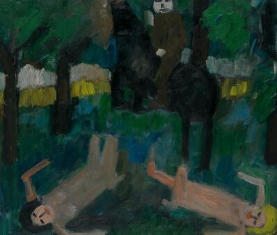 Jan Müller (1922-1958), 'Bathers and Equestrian', 1957