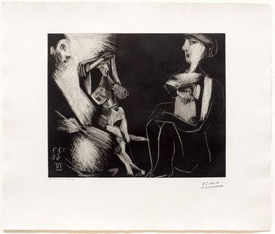 Pablo Picasso, 'Homme avec Deux Femmes Nues, from the 347 Series', 1968