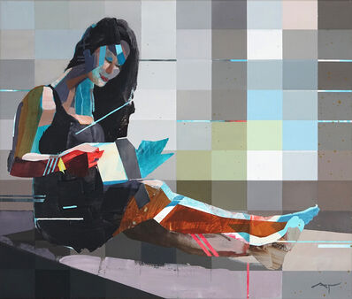 Michael Azgour, 'Jennifer Reading', 2019