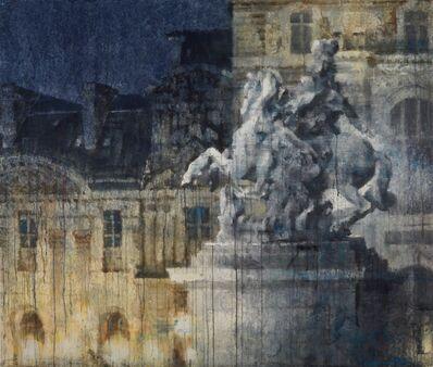 Chizuru Morii Kaplan, 'Night Louvre', ca. 2021