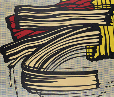 Roy Lichtenstein, 'Little Big Painting Reproduction', 1968