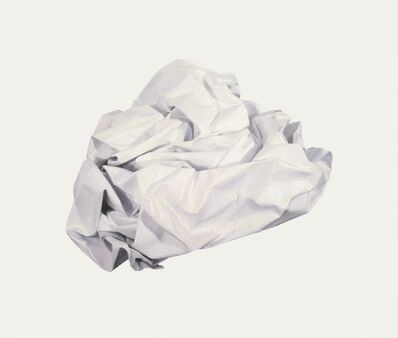 Angela de la Cruz, 'White (Nothing)', 2010