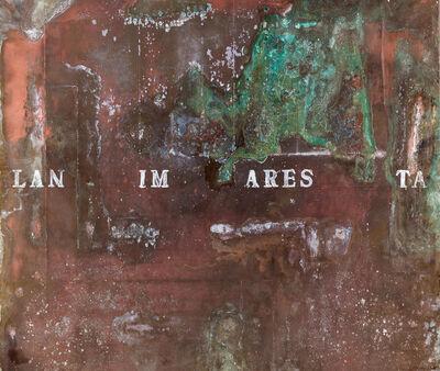 Alfredo Rapetti Mogol, 'LAN IM ARES TA (L'Anima Resta - The Soul Remains)', 2016