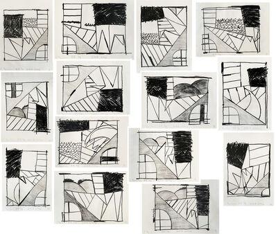 Carroll Dunham, 'Untitled (Set of Fourteen)', 2006