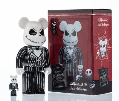 BE@RBRICK X Disney, 'Jack Skellington 400% and 100% (two works)', 2017