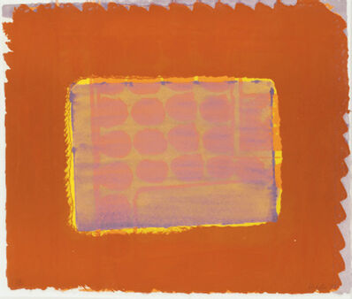 Howard Hodgkin, 'Nick's Room', 1977