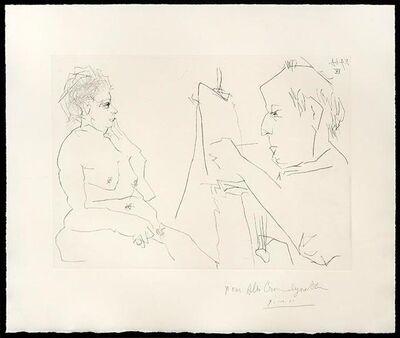 Pablo Picasso, 'Peintre et Modèle', 1966