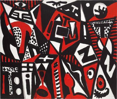 A.R. Penck, 'Harte Stadt', 2007